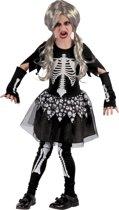 Levend skelet kostuum voor meisjes - Verkleedkleding