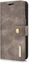 DG.Ming - Samsung Galaxy S8 Hoesje - Uitneembare Wallet case Cabello Donker Bruin
