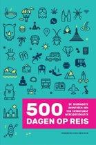 Boek cover 500 dagen op reis van Ingeborg van den Ban (Onbekend)