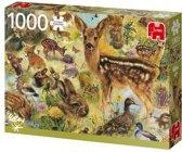 Young Wildlife Premium Collection Puzzel 1000 Stukjes