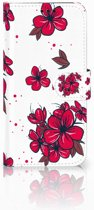 Samsung Galaxy A5 2017 Boekhoesje Design Blossom Red