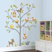 RoomMates Muursticker Woodland Fox & Friends Tree