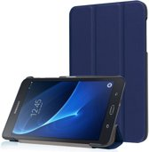GSMWise - Samsung Galaxy Tab A 7.0 Hoesje - PU Lederen Tablet Cover Case - Donker Blauw