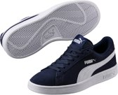 PUMA Smash V2 Sd Jr Sneakers Kinderen - Peacoat / Puma White - Maat 38.5