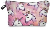 Emoji unicorn etui  -  Perfect als school-/toilet/make-up etui