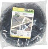 Kinzo dakgootbescherming - 4 meter lang - Ø 12 cm - weert vuil - voorkomt verstoppingen