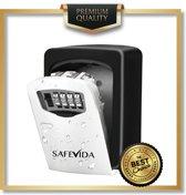 SafeVida sleutelkluis | Inclusief magneetpunt & 3 Keytags | Thuiszorg | Bouwplaats | Verhuur |