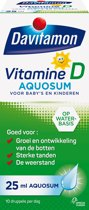 Davitamon Vitamine D Aquosum Baby's en Kinderen Voedingssupplement - 25 ml