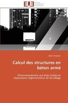 Calcul Des Structures En Beton Arme