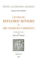 Lettres de Mylord Rivers à Sir Charles Cardigan