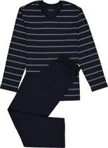 Schiesser Pyjama Blauw - Maat 50