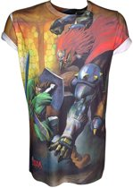 Nintendo - Zelda, Sublimation Print T-Shirt - X Large