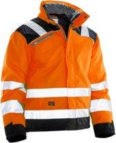 Jobman 1346 Winter Jacket Star Kl3 Oranje/Zwart maat L