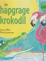 Boek cover De hapgrage krokodil van Jonnie Wild (Hardcover)