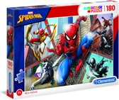 Clementoni Supercolor Spider-man Legpuzzel 180 Stuks