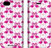 Mobigear Design Mobigear Tropical Design Wallet Bookcase Hoesje 1 iPhone 6 / 6s