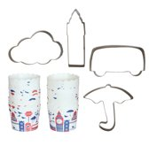 Point-Virgule Baking Cookie & Cupcake Baking Set - Toy City