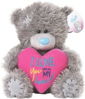 Me To You Love You Heart 18cm - Knuffelbeer
