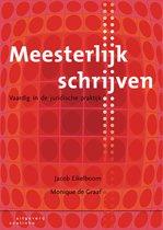 Boek cover Meesterlijk schrijven van Jacob Eikelboom (Paperback)