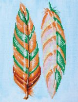 Diamond Dotz Feather Whispers (28x37 cm) - Diamond Painting