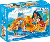 PLAYMOBIL Familie aan het strand - 9425