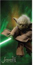 Star Wars Yoda - Strandlaken - 70 x 140 cm - Multi