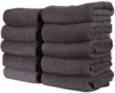 WT Trading Handdoek Set van 3 Stuks - 50x100 cm - Antraciet