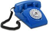 Opis 60's - Retro telefoon - Blauw