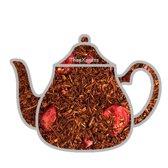 Rooibos wilde kersen thee, rooibos thee, 100 gram losse thee
