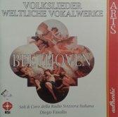 Beethoven: Volkslieder, Weltliche Vokalwerke / Fasolis, Lawrence, et al