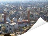 Zonnige dag in Karachi Poster 160x120 cm - Foto print op Poster (wanddecoratie woonkamer / slaapkamer) XXL / Groot formaat!