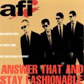Answer That & Stay Fashio
