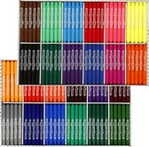 Colortime stift, 5 mm lijn, kleuren assorti, 24x24 stuks