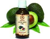 Avocado olie 50 ml, 100% zuiver en natuurlijke basisolie, rijk aan mineralen & vitamines voor intensieve lichaamsverzorging / massage / wellness / cosmetica / ontspanning / aromatherapie / etherische olie / alternatieve geneeskunde van AROMATIKA