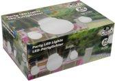 Feestverlichting - tuinverlichting -Bolletjes 4,5cm diameter - Wit - 20 LED - 11 Meter