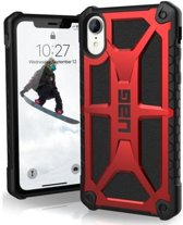 UAG iPhone XR Monarch Crimson Bl Leather