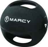 Marcy Medicine bal - Met Handgrepen - 4 kg - Zwart