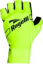 Rogelli Logan Fietshandschoenen - Unisex - geel/zwart