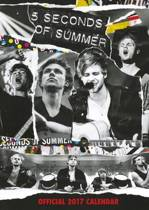 5 Seconds of Summer Official 2017 A3 Calendar