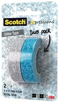 Scotch Glitter Tape - Blauw