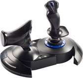 Thrustmaster T.Flight Hotas 4 Joystick PC,PlayStation 4 Zwart, Blauw