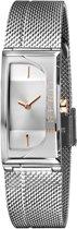 Esprit ES1L015M0015 Houston Lux Horloge - Staal - Zilverkleurig - Ø 18 mm