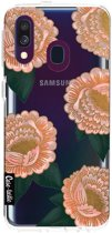 Casetastic Softcover Samsung Galaxy A40 (2019) - Winterly Flowers