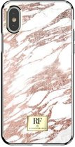 Richmond & Finch - iPhone X Hoesje - RF Series Pink Marble Gold