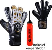 Elite - Combat F - Keepershandschoenen - inclusief Keepersbidon - maat 6 - voetbal keepershandschoenen - keepershandschoen - Goalkeeper handschoen