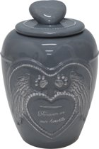 Happy-House Memory Collection Urn 13.5x13.5x18.5 cm 1 l Hardsteenlook Small