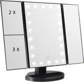 Make-up spiegel met LED verlichting van goede kwaliteit, en usb-kabel meegeleverd.