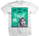 StudioCanal - Fright Poster heren unisex T-shirt wit - L