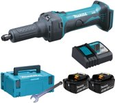 Makita 18V rechte slijper freesmachine set