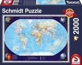 Puzzel onze wereld 2000 stukjes